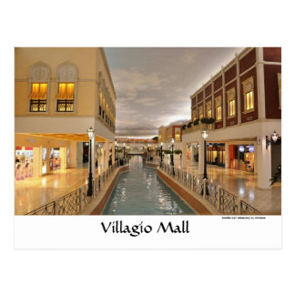 velagio_skylight, Velagio Skylight, Villagio Ma... Postcard