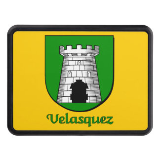 Velasquez Family Shield Tow Hitch Covers