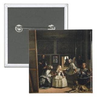 Velázquez Las Meninas 15 Cm Square Badge