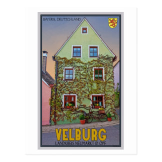 Velburg - Ivy House Postcard