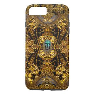 Velgeorge Romantic Beautiful Monogram iPhone 8 Plus/7 Plus Case