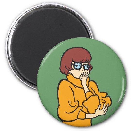 Velma Pose 11 6 Cm Round Magnet