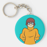 Velma Pose 16 Basic Round Button Key Ring