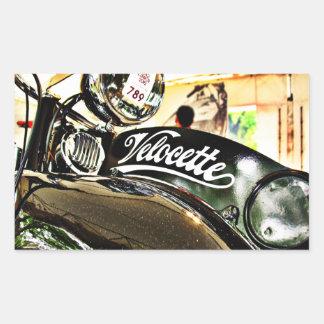 Velocette M Series vintage motorcycle Sticker