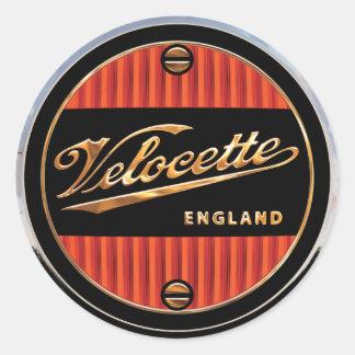 velocette Motorcycles Round Sticker