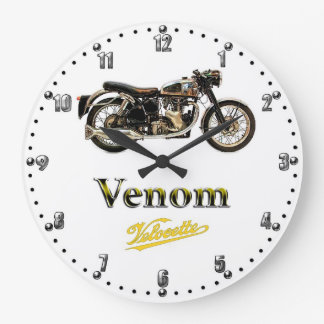 Velocette Venom Motorcycle Quartz Wall Clock