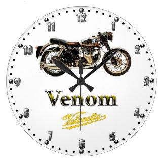 Velocette Venom Motorcycle Quartz Wall Clock