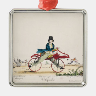 Velocipedes Christmas Ornament