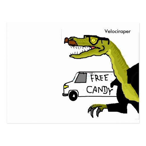 Velociraper Post Cards
