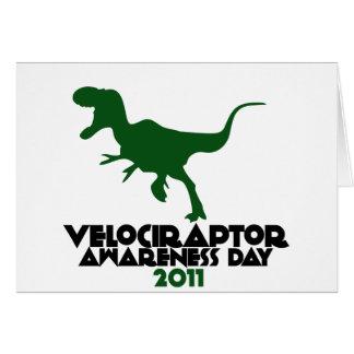 Velociraptor Awareness day 2011 Cards