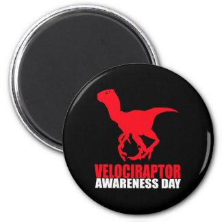 Velociraptor Awareness Day Fridge Magnet