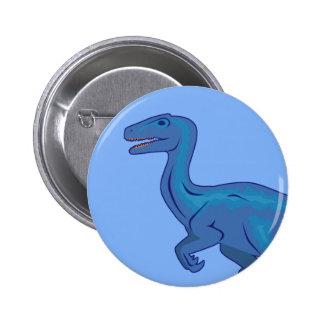 Velociraptor 6 Cm Round Badge