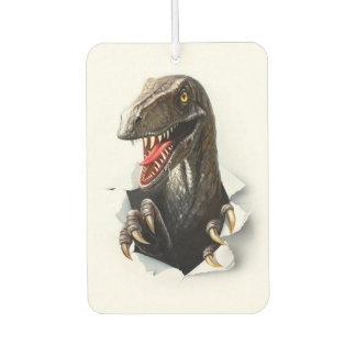 Velociraptor Dinosaur Car Air Freshener
