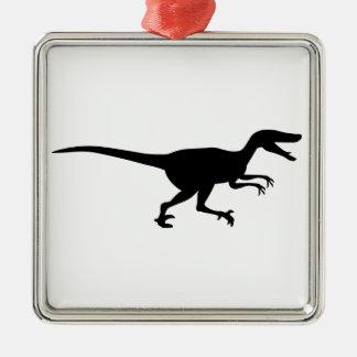 Velociraptor Dinosaur Christmas Ornament