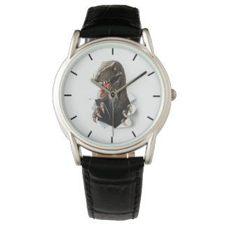 Velociraptor Dinosaur Classic Watch