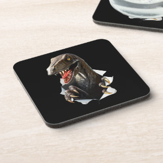 Velociraptor Dinosaur Coasters (set of 6)