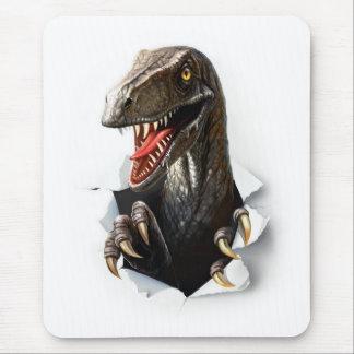 Velociraptor Dinosaur Mouse Pad
