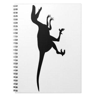 Velociraptor Dinosaur Notebook