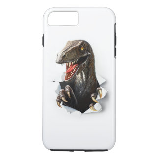 Velociraptor Dinosaur Tough iPhone 7 Plus Case