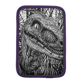 Velociraptor Face iPad Mini Sleeve