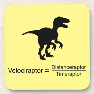 velociraptor funny science coaster