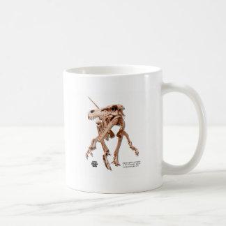 Velociraptor Classic White Coffee Mug