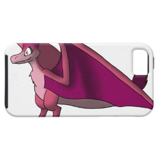 Velociraptor/Quetzalcoatlus - Mulberry/Any Color iPhone 5 Cases
