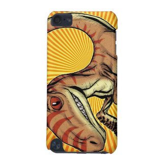 Velociraptor Raptor Dinosaur by Marco D Carillo iPod Touch (5th Generation) Covers