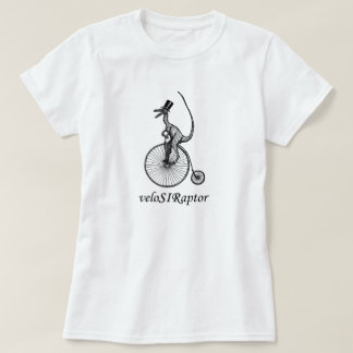 velociraptor tee for ladies