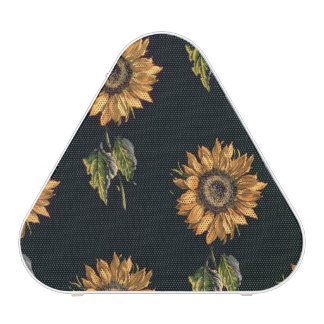Velours au Sabre silk decoration of Sunflowers
