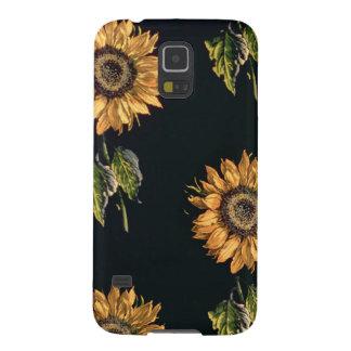 Velours au Sabre silk decoration of Sunflowers Galaxy S5 Case