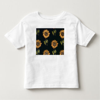 Velours au Sabre silk decoration of Sunflowers Toddler T-Shirt