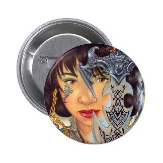"""Velvet And Steel"" button"