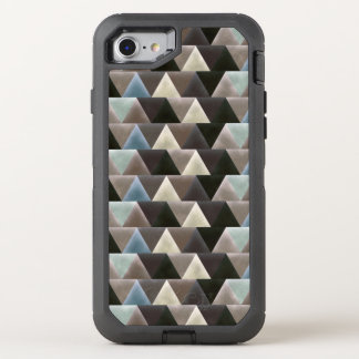 Velvet Geometric Elegant Triangles Modern OtterBox Defender iPhone 7 Case