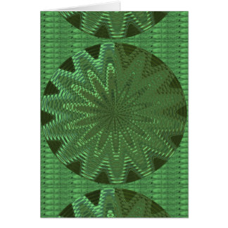 VELVET Green Sparkle Star Gifts - LOWPRICE STORE Greeting Card
