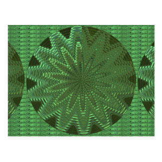 VELVET Green Sparkle Star Gifts - LOWPRICE STORE Postcards