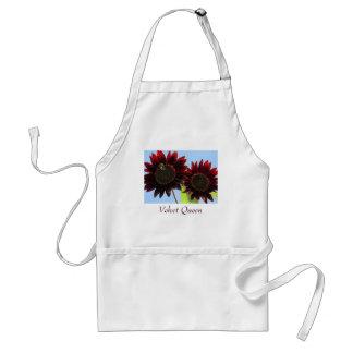 Velvet Queen Sunflowers Standard Apron