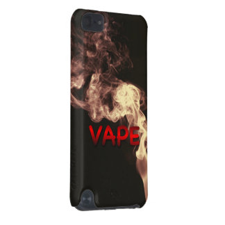 Velvet Red Vape Clouds Grunge iPod Touch 5G Cover