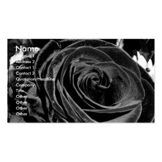 Velvet Rose business card
