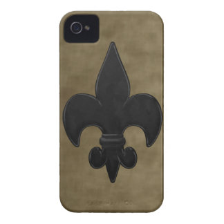 Velvet Saints Fleur De Lis iPhone 4 Case-Mate Cases