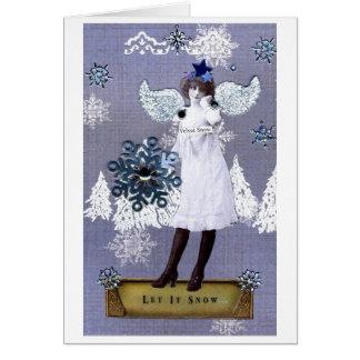 Velvet Snow Card