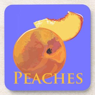 Velvety Peaches Coaster