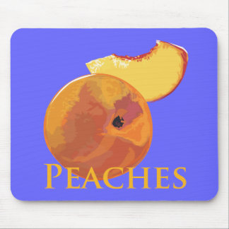 Velvety Peaches Mouse Pad