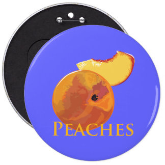 Velvety Peaches Pin