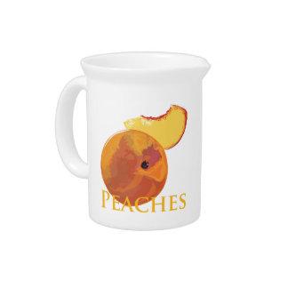 Velvety Peaches Beverage Pitchers