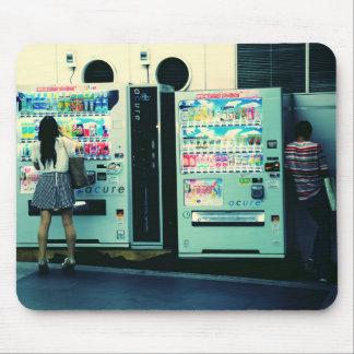 Vending Machines in Japan Postcard Mouse Mat