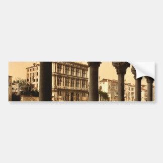 Vendramin Palace, Venice, Italy classic Photochrom Bumper Stickers