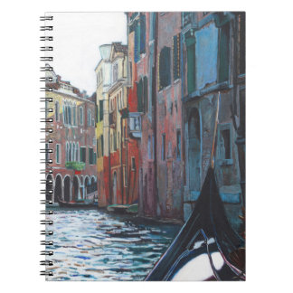 Venetian backwater 2012 notebook