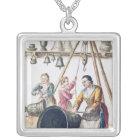 Venetian Bellmaker's Shop Silver Plated Necklace
