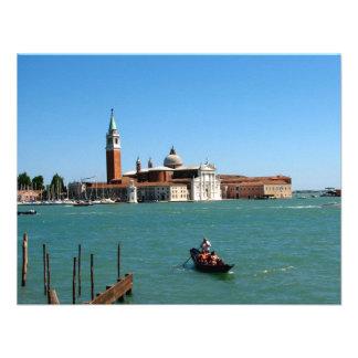 Venetian Blue Invite